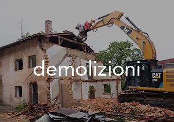 demolizioni impresa edile